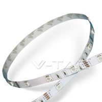 V-TAC RGB színes beltéri LED szalag (30LED/m)5050 2124