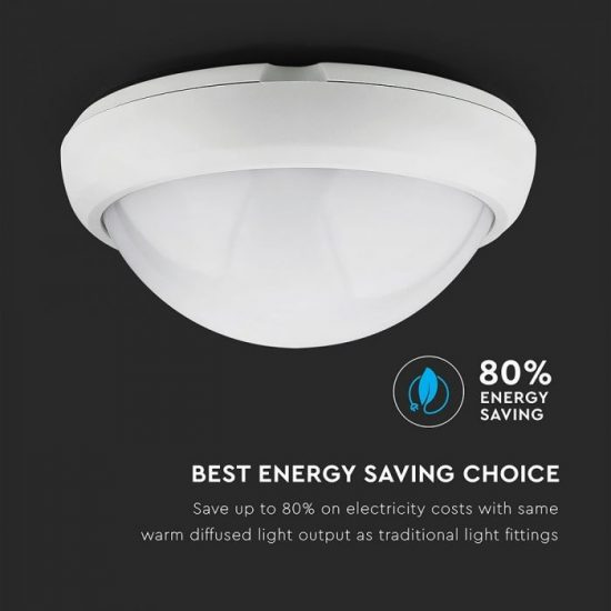 V-TAC LED LÁMPATEST / 12W / 840Lumen  / FEHÉR / VT-8015 / nappali fehér 5050