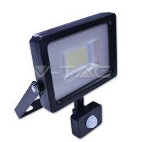 V-TAC LED MOZGÁSÉRZÉKELŐS REFLEKTOR / 20W / 1600Lumen / VT-4820 PIR nappali fehér 5698