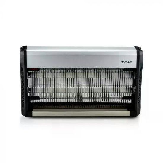 V-TAC ELEKTROMOS ROVARCSAPDA / 2 x 20W-os UV fénycsővel / 150m2-es hatótávolság / IP20 / VT-3240 11182