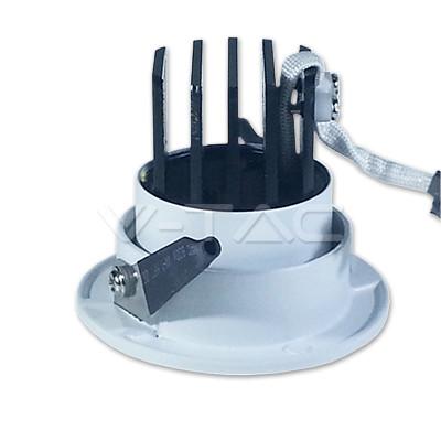 V-TAC LED MÉLYSUGÁRZÓ / 3W / forgatható / kör / 240 Lumen / VT-1104 hideg fehér 1184