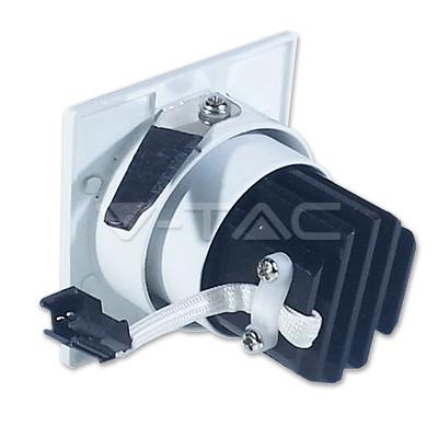 V-TAC LED MÉLYSUGÁRZÓ / 3W / forgatható / négyszög / 240 Lumen / VT-1104 hideg fehér 1186