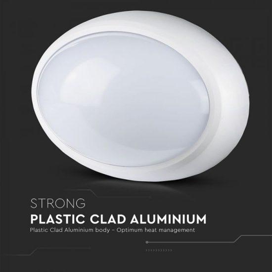 V-TAC LED VÍZMENTES LÁMPA / 12W / 840Lumen / VT-8010 hideg fehér 1353