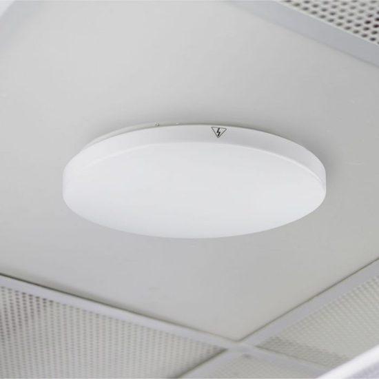 V-TAC LED MENNYEZETI LÁMPA / 15W / KÖR / VT-8033 hideg fehér 1389