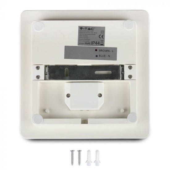V-TAC LED MENNYEZETI LÁMPA / NÉGYSZÖG / 25W / VT-8066 / nappali fehér 13969