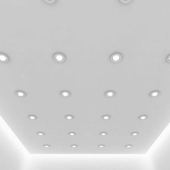 V-TAC SMART LED MÉLYSUGÁRZÓ / 10W / Bluetooth vezérlés / 850Lumen / dimmelhető / VT-7710D változtatható színhőmérséklet 1424