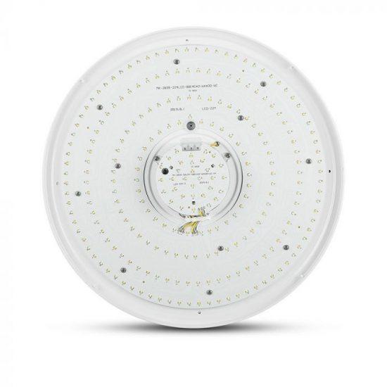 V-TAC LED MENNYEZETI DESIGN LÁMPA / KÖR / 60W / VT-8055 / dimmelhető 14551