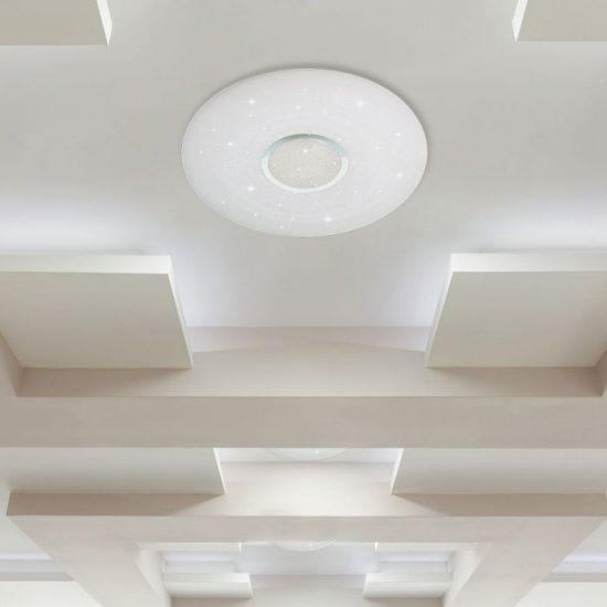 V-TAC LED DESIGN MENNYEZETI LÁMPA / 60W / Csillogó hatás / Dimmelhető / 3 in 1 vezérlővel / VT-8556 14911