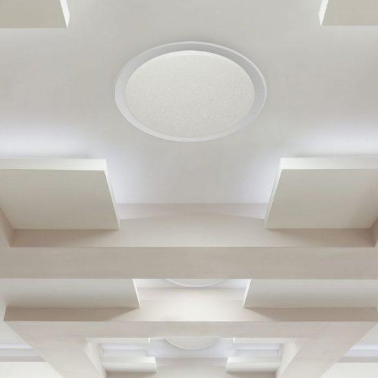 V-TAC LED DESIGN MENNYEZETI LÁMPA / 80W / Dimmelhető / 3 in 1 vezérlővel / VT-8480 1496