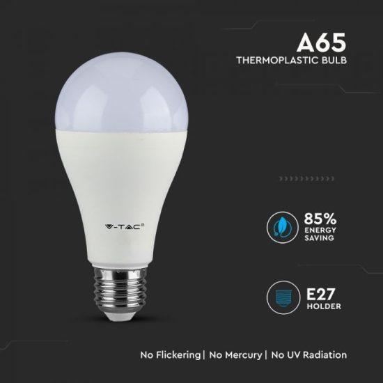 V-TAC LED IZZÓ / E27 / Samsung chip / 15W / VT-215 meleg fehér 159
