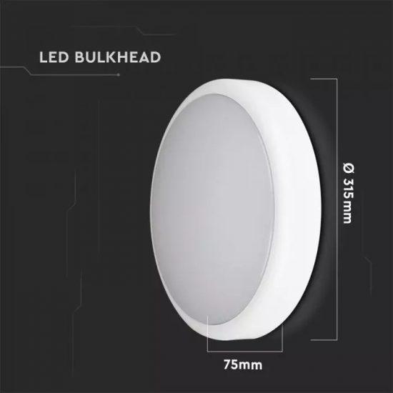 V-TAC LED MENNYEZETI LÁMPA / Samsung chip / fehér / 3 in 1 vezérlővel / 14W / VT-14 20088