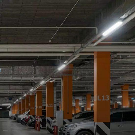 V-TAC LED VÍZMENTES LÁMPATEST / Samsung chip / 36W / hideg fehér - 6400K / 120cm / átlátszó / VT-120036 20204