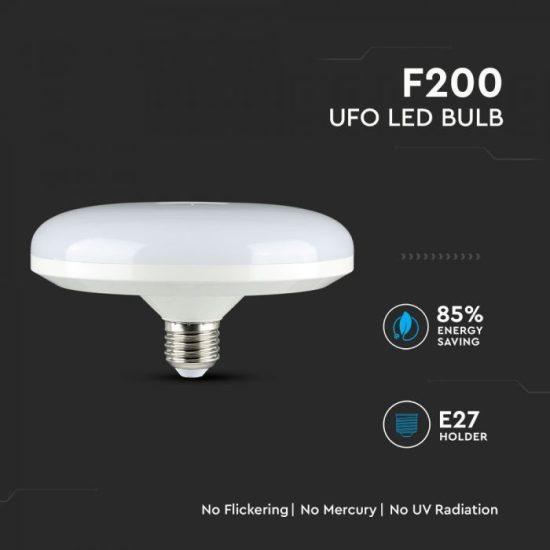 V-TAC LED IZZÓ / E27 / Samsung chip / 24W / VT-224 meleg fehér 216