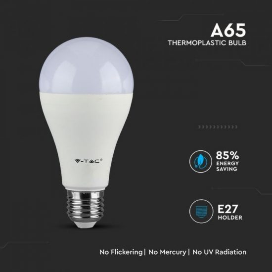 V-TAC LED IZZÓ / E27 / Samsung chip / 12W / VT-295 meleg fehér 249