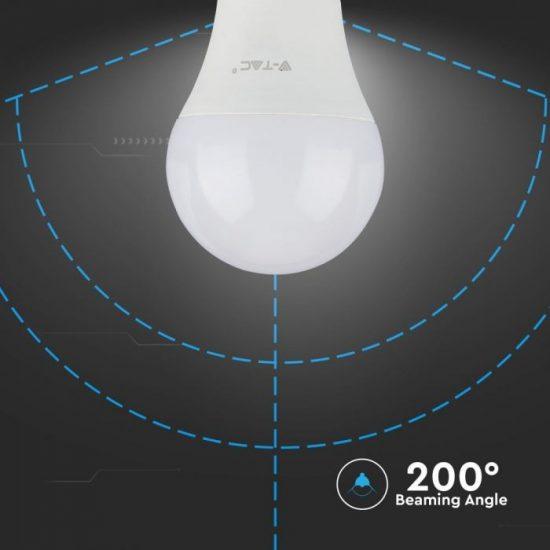 V-TAC LED IZZÓ / E27 / Samsung chip / 8.5W / VT-285 hideg fehér 254