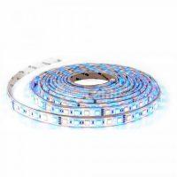 V-TAC RGB színes beltéri LED szalag (60LED/m) / VT-5050 RGB + meleg fehér 2553
