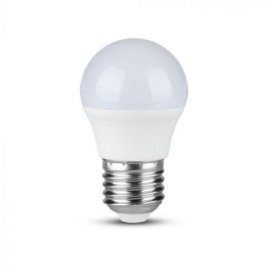 V-TAC LED IZZÓ CSOMAG 6 DB / E27 foglalat / G45 típus / 5,5W / nappali fehér - 4000K / 470lumen / VT-2256 2731