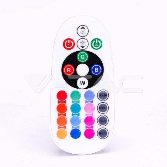 V-TAC LED SPOT / GU10 / 3,5W / 110° / RGB + nappali fehér - 4000K / 300lumen / VT-2244 2779