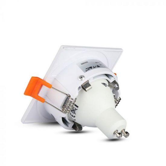 V-TAC GU10 beépítő keret / fehér / VT-876 3170