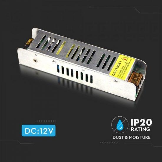 V-TAC TÁPEGYSÉG / 25W / FÉMHÁZ / IP20 / DC12V / 2.1A / VT-20026 3228