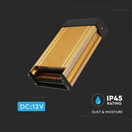 V-TAC TÁPEGYSÉG / 150W / FÉMHÁZ / IP45 / DC12V / 12.5A / VT-21151 3231