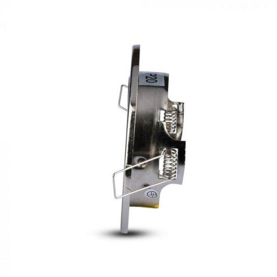 V-TAC GU10 beépítő keret / nikkel / VT-7227 3470