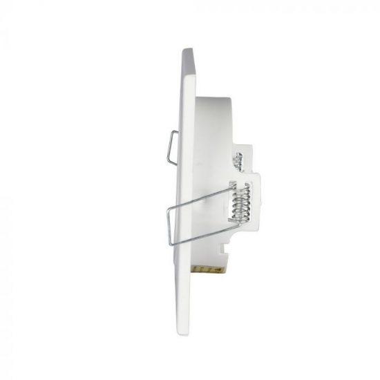 V-TAC GU10 beépítő keret / fehér / VT-7227 3472