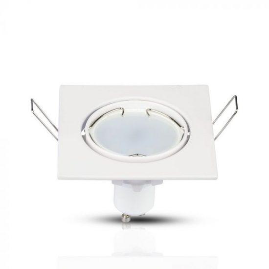 V-TAC GU10 beépítő keret / fehér / VT-779 3590