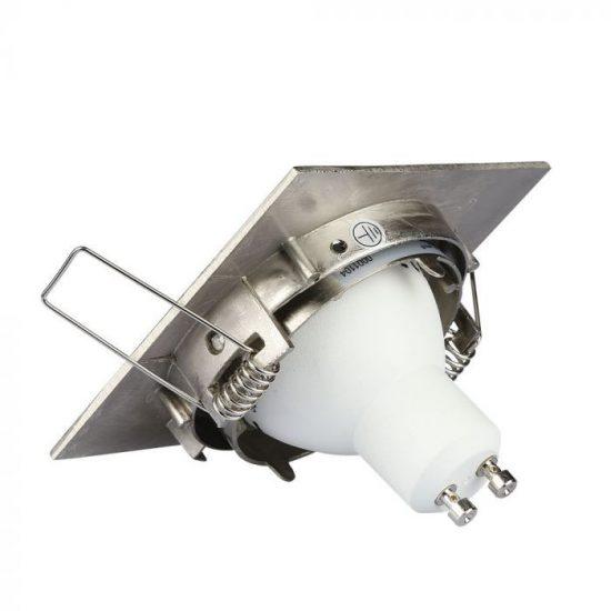 V-TAC GU10 beépítő keret / nikkel / VT-779 3591