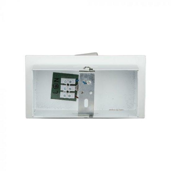 V-TAC LED SPOT MENNYEZETI ARMATÚRA  / GU10 / 1-foglalat / fehér / szögletes / billenthető / VT- 788 3617