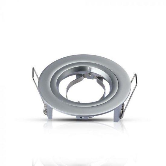 V-TAC GU10 beépítő keret / ezüst / VT-774 3644