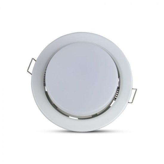 V-TAC LED SPOT BEÉPÍTŐ KERET / GX53 /1-foglalat / fehér / kerek / fix / VT-715 3675