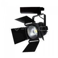 V-TAC LED SÍNES LÁMAPATEST / Samsung chip / 33W / fekete / VT-433 meleg fehér 371