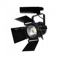 V-TAC LED SÍNES LÁMAPATEST / Samsung chip / 33W / fekete / VT-433 nappali fehér 372