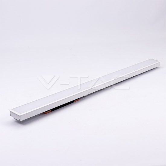 V-TAC LED SÜLLYESZTHETŐ LINEÁR LÁMPATEST / 40W / toldható / nappali fehér - 4000K / fehér / VT-7-42 PRO382