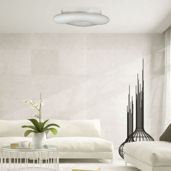 V-TAC LED DESIGN MENNYEZETI LÁMPA / 32W / Dimmelhető / 3 in 1 vezérlővel / VT-7462 3967