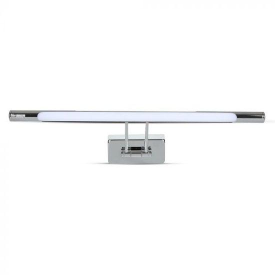 V-TAC LED TÜKÖRVILÁGÍTÁS / 12W / króm / VT-7012 meleg fehér 3982
