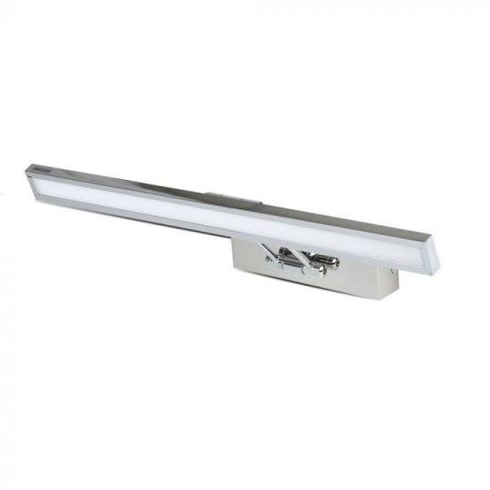 V-TAC LED TÜKÖRVILÁGÍTÁS / 8W / króm / VT-7009CH meleg fehér 3984