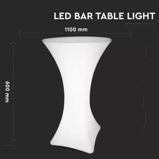 V-TAC LED KERTI ASZTAL / 5W /  VT-7813 RGB 40261