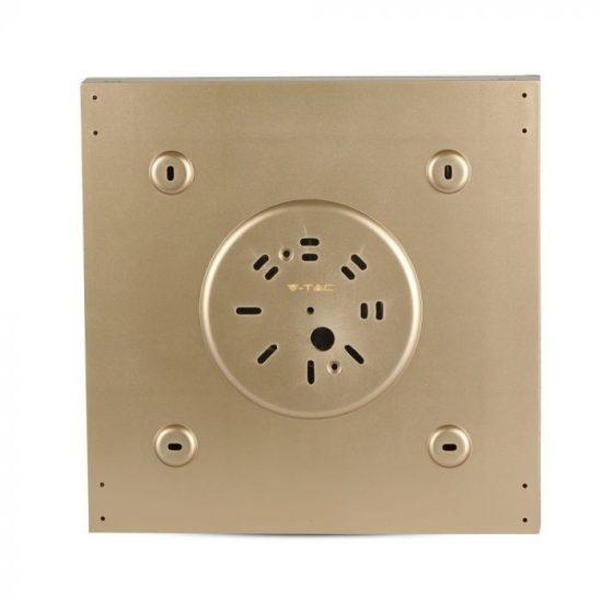 V-TAC LED DESIGN MENNYEZETI LÁMPA / 8W / Csillagos égbolt /  Dimmelhető / 3 in 1 vezérlővel / VT-7128 arany 40301
