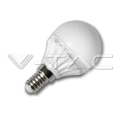 V-TAC LED IZZÓ / E14 / 4W / VT-1819 meleg fehér 4123