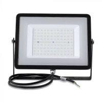 V-TAC LED REFLEKTOR / Samsung chip / 300W / fekete / VT-300 hideg fehér 423