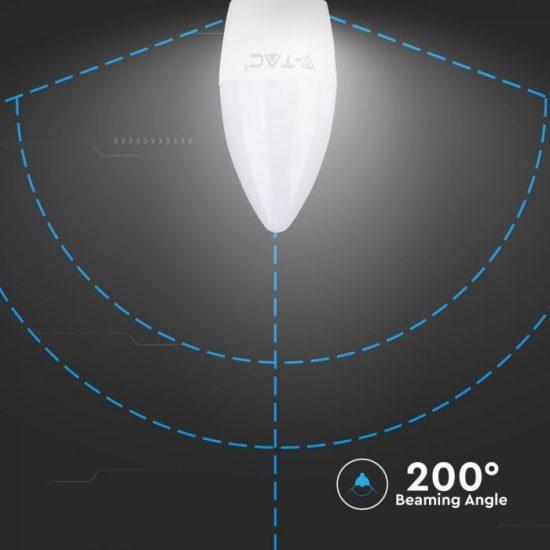 V-TAC LED IZZÓ / E27 / 5,5W / VT-1821  nappali fehér 43431