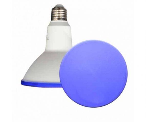 V-TAC LED IZZÓ / E27 foglalattal / PAR38 típus / 15W / kék / 1000lumen / VT-1125 4420