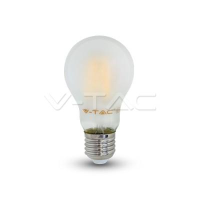 V-TAC LED FILAMENT IZZÓ / E27 / 6W  /  VT-1935 hideg fehér 4482