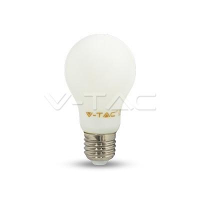 V-TAC LED FILAMENT IZZÓ / E27 / 4W  /  VT-1934 hideg fehér 4491