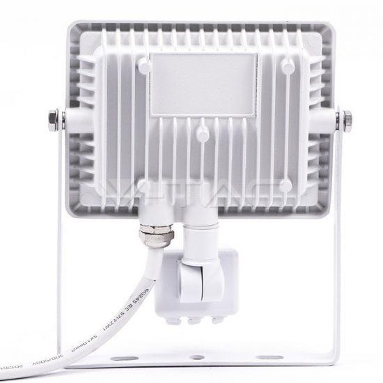 V-TAC LED MOZGÁSÉRZÉKELŐS REFLEKTOR / Samsung chip / 20W / fehér  / VT-20-S nappali fehér 449