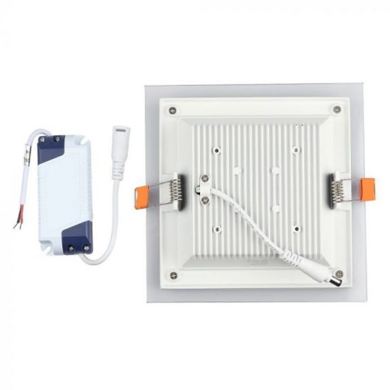 V-TAC MINi LED PANEL / 6W / NÉGYSZÖG / 100mm x 100mm/ VT-602G  hideg fehér 4737