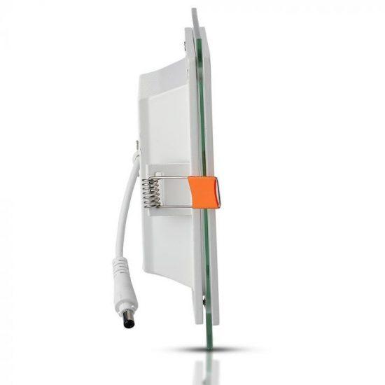 V-TAC MINi LED PANEL / 6W / NÉGYSZÖG / 100mm x 100mm/ VT-602G  meleg fehér 4738