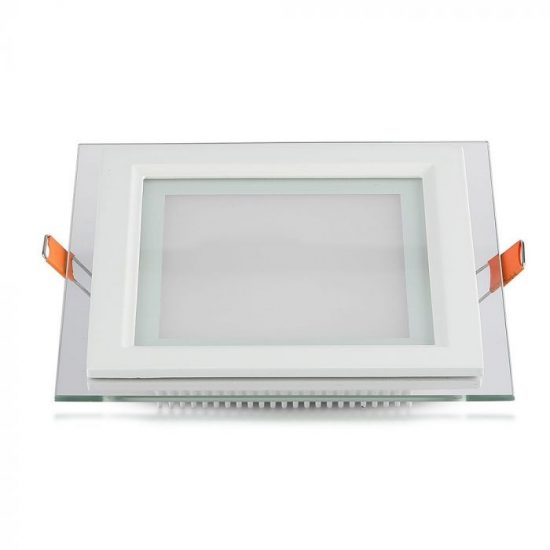 V-TAC MINi LED PANEL / 18W / NÉGYSZÖG / 198mm x 198mm/ VT-1881G  hfideg ehér 4745